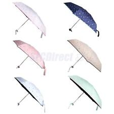 Mini Small Umbrella Men Women Handbag Folding Compact Waterproof Umbrella