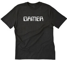 Gamer T-shirt Funny Geek Nerd Computer Tech IT Internet Roleplay Tee Shirt S-5XL