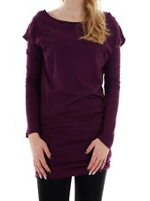 Bench Shirt Dress Dress Anscombe purple 2-in-1 Long sleeve slim fitted