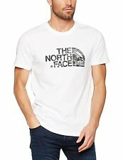 The North Face Mens Woodcut Dome  Tee Shirt >  TNF White - TNF Black