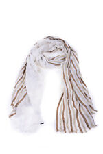 Gucci Scarf Scarves Foulard % Silk Made In Italy Woman Whites 2810344G674-9079
