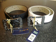 BRAND NEW PLAYBOY BELT WITH VINTAGE DIAMANTE BUCKLE