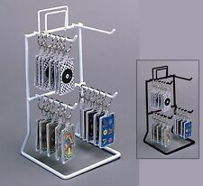 2 Planet Racks 2 Tier 4 Peg Counter Displays - Black or White