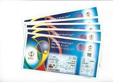 FIFA World Cup 2002 KOREA/JAPAN Unused Tickets