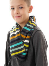 Barts Scarf Neck warmer Knit scarf grey Milo Stripes Patches warm
