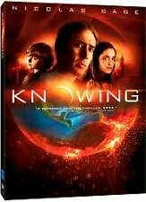 Knowing (DVD, 2009) Nicolas Cage, Chandler Canterbury, Rose Byrne  NEW