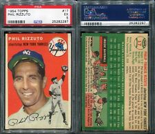1954 TOPPS #17 PHIL RIZZUTO PSA 5 (2297)