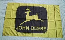 John Deere Tractor 3' X 5' Polyester Flag Banner Man Cave NEW # 121