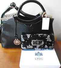 Black Patent Bag and LYDC Butterfly Purse with Gift Box
