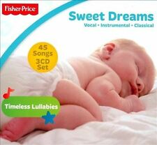 Sweet Dreams [Fisher-Price] [Digipak] by Various Artists (CD, 3 Discs, Fisher-Pr