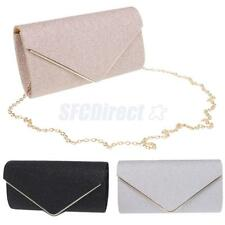 Sequined Ladies Envelope Clutches Bag Purse Evening Bag Bridal Handbag Prom Bag
