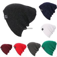 New Beanie Hat Unisex Women Men Fashion Stretch Long Knit Hat ED01