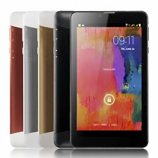 7'' inch 3G 2Sim Phablet Dual Core Google Android 4.4Bluetooth 4GB HD Tablet PC