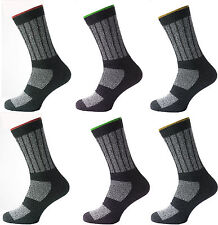 3 Mens KATO™ Cotton Rich INDUSTRIAL Safety Work Socks UK 6-11