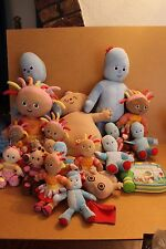 IN THE NIGHT GARDEN  VARIOUS PLUSH FIGURES & TOYS  MULTI CHOICE LIST YOU CHOOSE