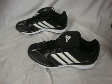 Adidas Black Spinner 8 Low Baseball Cleats Men Size  New In Box 673402