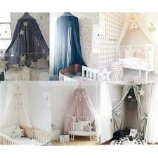 Kids Baby Bedding Round Dome Bed Canopy Netting Bedcover Mosquito Net Pretty