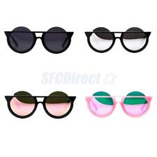 Unisex Vintage Retro Women Men Glasses Mirror Lens Round Sunglasses Fashion