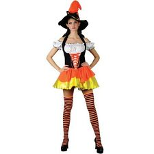 SALE Candy Corn Witch - Ladies Halloween Clearance Fancy Dress Costume