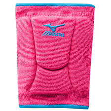 Mizuno LR6 Highlighter Volleyball Kneepads - Pink/Diva Blue - Medium