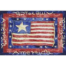 Old Glory American Flag Art Tapestry Placemat 773-PM ~ Made in USA