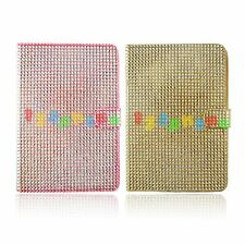 LUXURY BLING CRYSTAL RHINESTONE CARD LEATHER CASE FOR IPAD MINI 1 2 3 GEN
