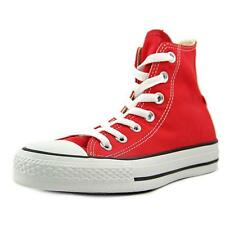 Converse Chuck Taylor All Star Core Hi Women  Round Toe Canvas Red Sneakers