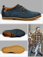 Hot Selling Suede European style leather Shoes Men's oxfords Casual Shoes 2017