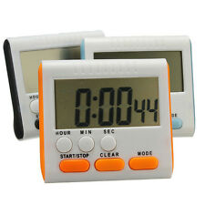 Practical Electronic Kitchen Digital LCD Magnetic Countdown Timer Cooking Alarm