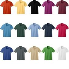 ZUZIFY Stain Resistant Polo Shirt. DQ0427