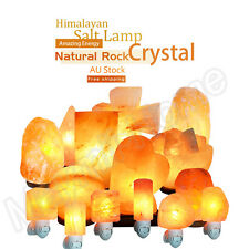 Himalayan Salt Lamp 3Kg - 5Kg Natural Crystal Rock Dimmer Switch Air Purifier