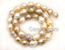 "SALE 9-10mm Multicolor Round Natural Edison PEARL Loose beads strands 14""-los749"