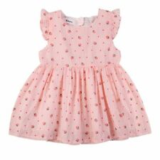 BOBORA Baby Girl Strawberry Print Dress Back Big Bow Design Costume Skirt Dress
