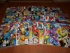 X-MEN COMICS ASSORTED LOT OF 50 WITH SABRETOOTH WOLVERINE MAGNETO AND MORE