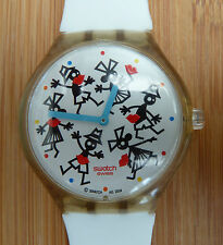 Rare Swatch Touch Game TIME FOR A KISS Collector's Special Model From 2004