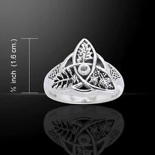 Oak Ash Thorn Sterling Silver Ring - a creation of Mickie Mueller