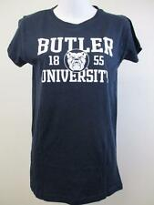 New Butler University Bulldogs Womens Sizes M-L Navy Blue Shirt
