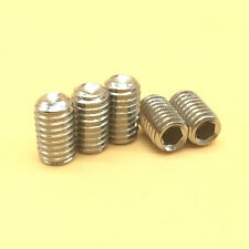 """304 Stainless Steel Select 2-56 to 3/8""""-16 Allen Head Hex Socket Screws Bolts"""