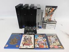 Sony PS2 PlayStation 2 Console Bundle of 4 Consoles and 13 Games GTA  - C69