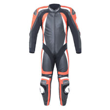 RST PRO SERIES CPX-C II 1840 MENS Black Flo Red LEATHER ONE PIECE RACE SUIT