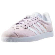 adidas Gazelle Womens Trainers Light Purple New Shoes