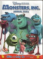 Monsters Inc Annual 2003 (Annuals), Anon   Hardcover Book   Good   9780749856359