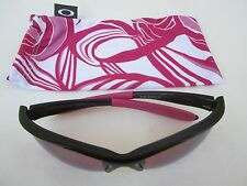 OAKLEY COMMIT SQ Women's SUNGLASSES Shades BREAST CANCER AWARENESS Ladies w/ PIN
