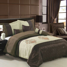 Pacifica Luxury 7PC Comforter Set, Includes Comforter, Skirt, Shams, and Pillows