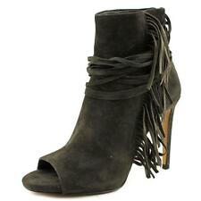 Vince Camuto Ferdinand Women  Open-Toe Suede Gray Ankle Boot