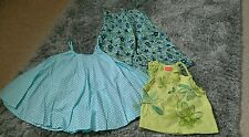 Girls Marese top and M&S swing  top & sundress age 2-4 years lovely condition