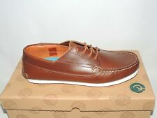 RED OR DEAD 'MR BERRY' BROWN LEATHER LACE UP SHOES. BNIB