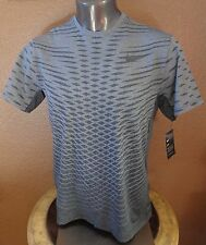 Nike Dry Men's Short Sleeve Training Top Crew T-Shirt Wolf Grey/Black - New