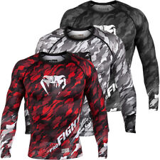 Venum Tecmo Long Sleeve MMA Compression Rashguard