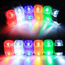 Bike Bicycle Silicone Frog Light LED Front / Rear Firm Safety Warning Lamp 2016